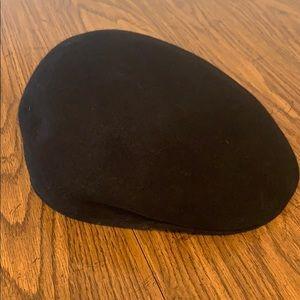 Newsboy Scally Flat Cap Style Black Hat